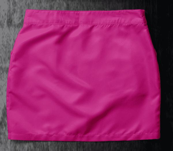 Basic skirt Fuchsia Back