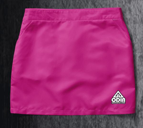 Basic skirt Fuchsia Front