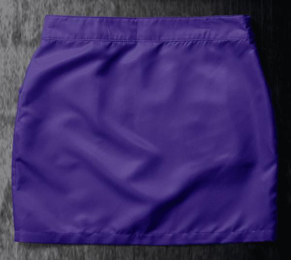 Basic skirt Purple Back