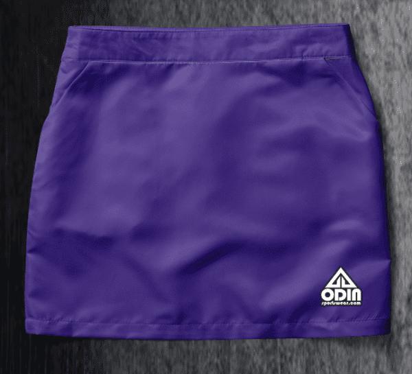 Basic skirt Purple Front