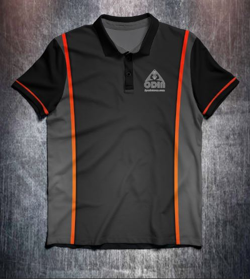 Black orange front