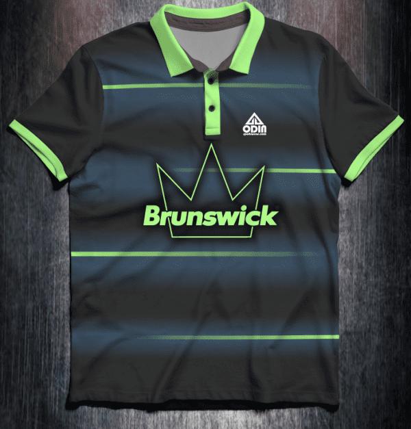 Front Brunswick Green Fade lines
