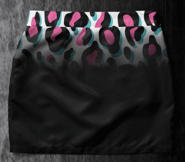 Skirt Chantal 2019-2 Leopard back