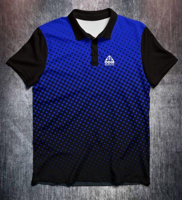 half tone dots blue front 2