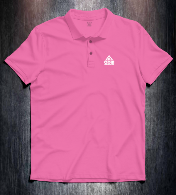 Basic polo Pink Front