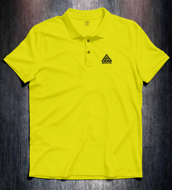 Basic polo Yellow Front