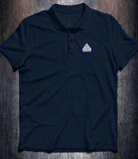 Basic polo Dark Navy Front