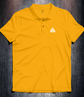 Basic polo Gold Front