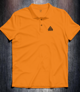 Basic polo Orange Front