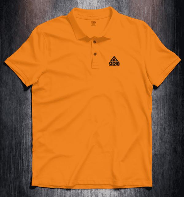 Basic polo Orange Front