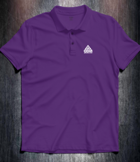 Basic polo Purple Front
