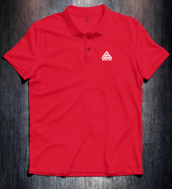 Basic polo Red front