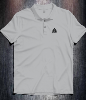 Basic polo cool Grey Front
