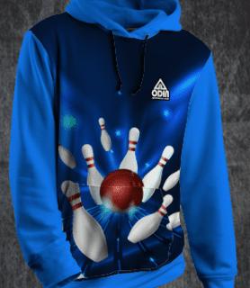 Hoody bowling Lane front