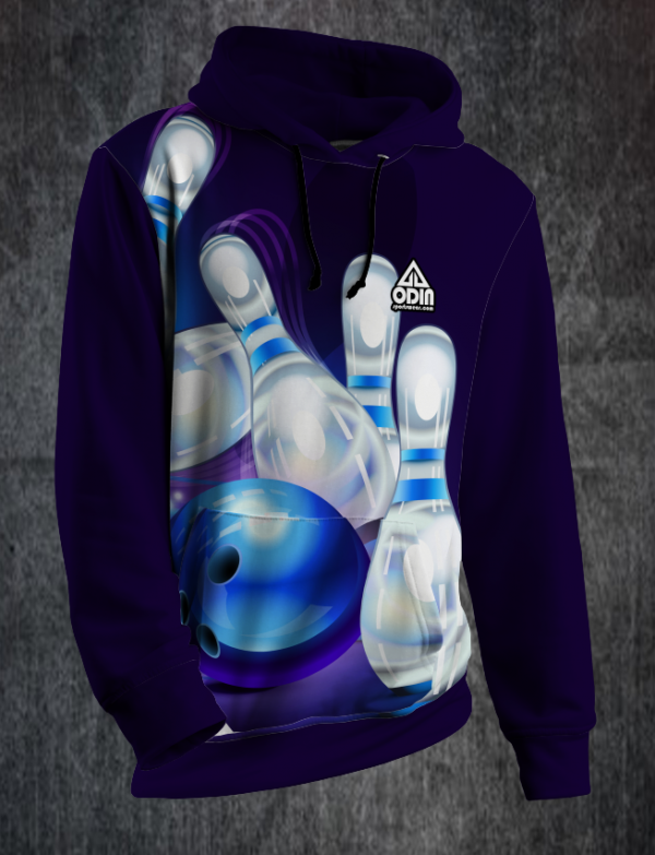 Hoody bowling spare front