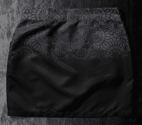 Skirt Chantal 2019-3 Black Mandala