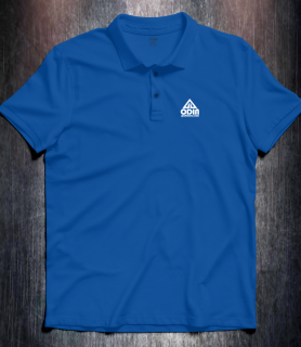 Basic polo Royal Blue Front