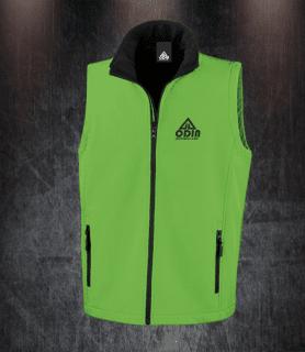 body warmers green-black