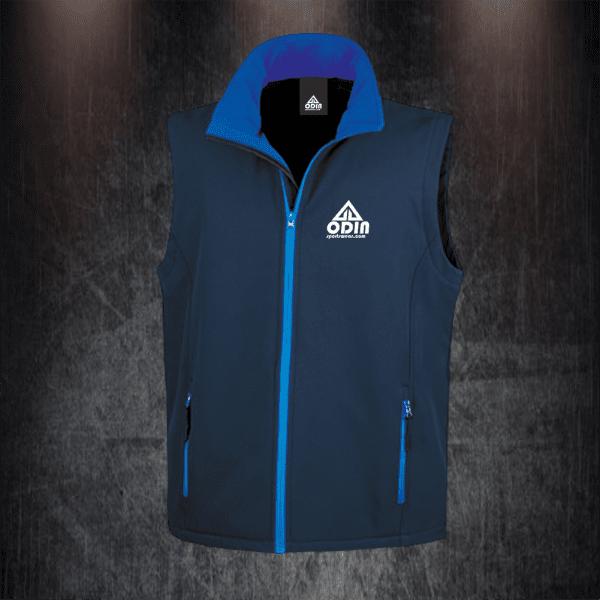 body warmers navy-blue